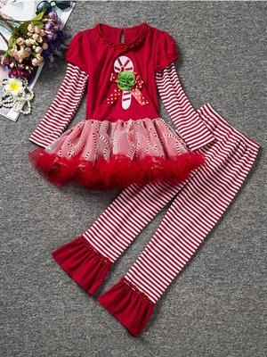 Костюм новорічний: сукня та легінси | 2796162