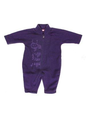 Комбинезон фиолетовый флисовый | 2791590