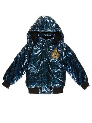 Куртка синяя в клетку   2791541