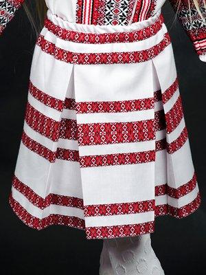 Юбка белая с вышивкой | 2800733