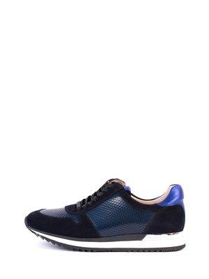Кроссовки черно-синие | 2800422