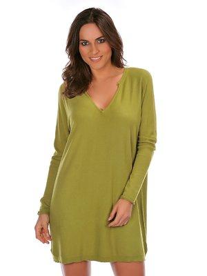 Платье анисового цвета | 2809005