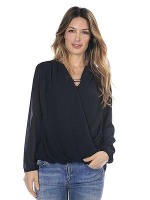 Блуза темно-синяя | 2812947