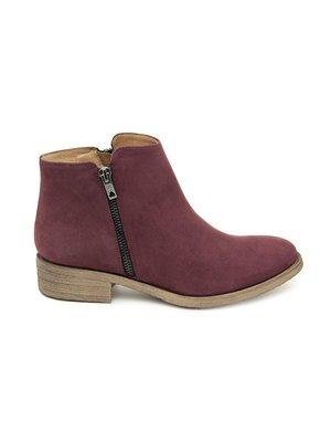 Ботинки бордовые | 2811781