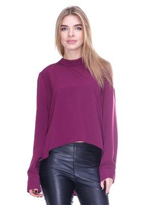 Блуза фіолетова з декором | 2706041