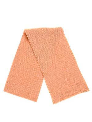 Шарф персикового цвета | 2821234