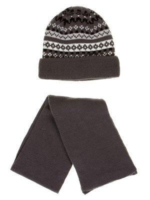 Комплект: шапка и шарф | 2821136