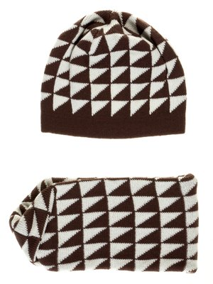 Комплект: шапка и шарф   2821138