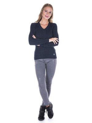 Пуловер темно-синій   2783502