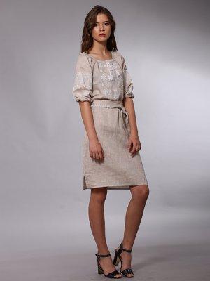 Платье бежевое | 2827239