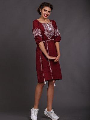Сукня бордова | 2827254
