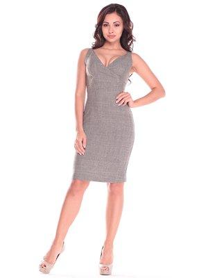 Сукня кольору бежевий хакі | 2833271