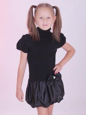 Сукня чорна з бантиком | 2834309