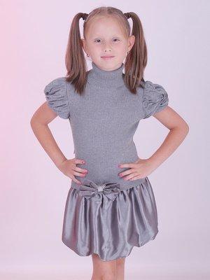 Сукня сіра з бантиком | 2834318