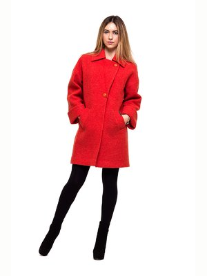Пальто красное - Victoria Bloom - 2837192