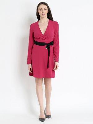 Сукня малинового кольору | 2841594