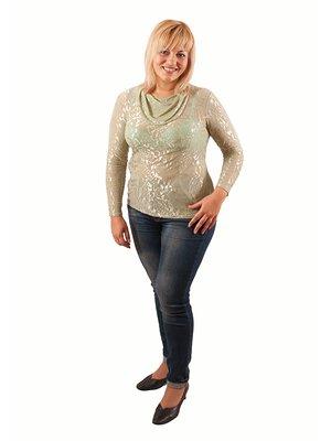 Блуза салатова | 2843850