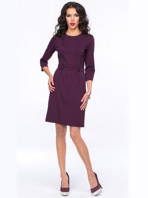 Платье баклажанного цвета | 2848876
