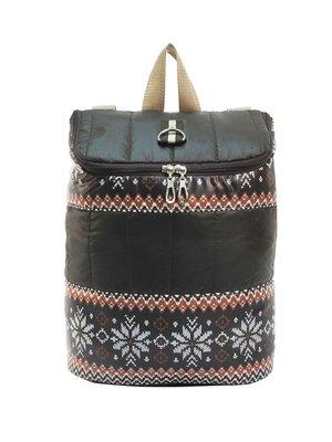 Рюкзак коричневый с орнаментом | 2854914
