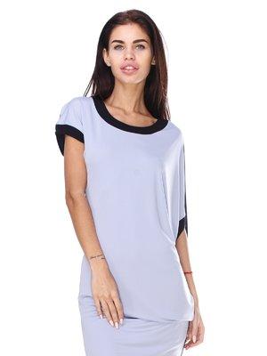 Сукня чорно-блакитна | 2480871