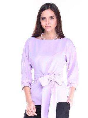 Блуза світло-бузкова | 2849553