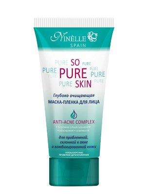 Маска-плівка глибокого очищення для проблемної шкіри So Pure Skin (75 мл) - Ninelle - 2856545