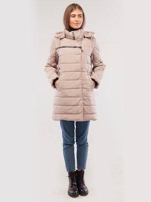 Пальто цвета пудры | 2861226
