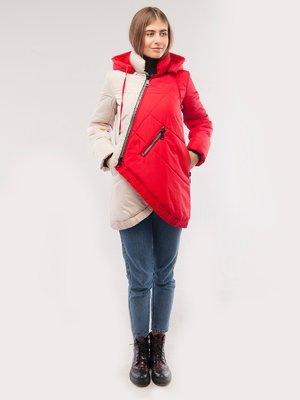 Куртка двоколірна   2861212
