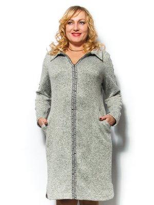 Платье серое | 2869139