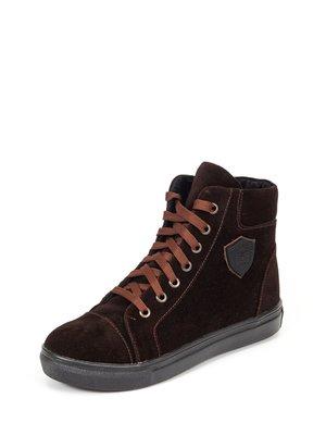 Ботинки темно-коричневые | 2433613