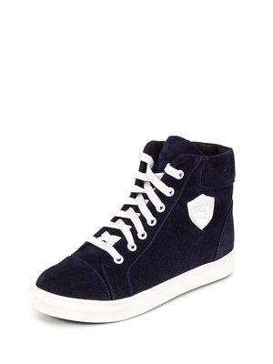 Ботинки темно-синие | 2599937