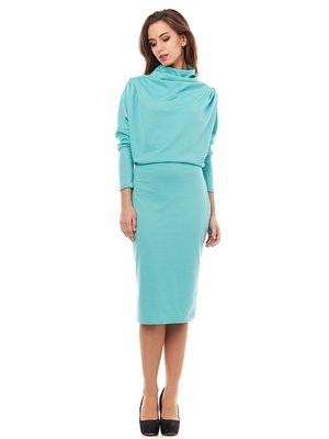 Платье мятного цвета | 2876343