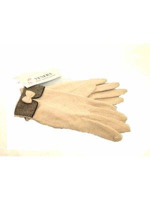 Перчатки бежевые | 2878185