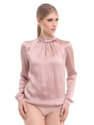 Боді бежево-рожеве | 2878549