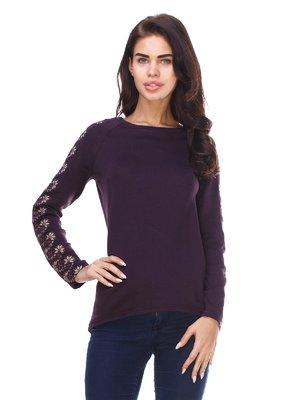 Джемпер фіолетовий з вишивкою | 2875085