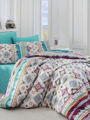 Комплект постельного белья двуспальный (евро) - Nazenin Home - 2893003