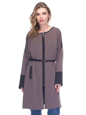 Сукня-кардиган кольору хакі | 2906104