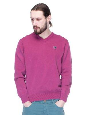 Пуловер темно-сиреневый | 1353243