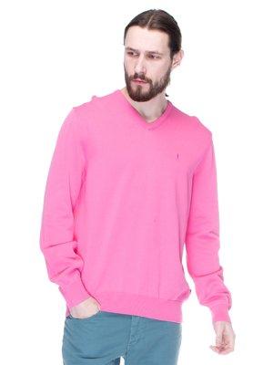 Пуловер розовый | 1353275