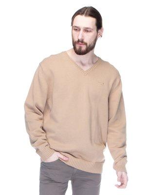 Пуловер бежевый | 1352636