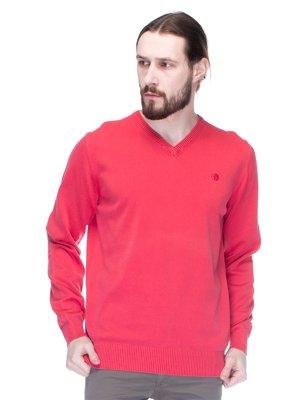Пуловер коралловый | 1353246