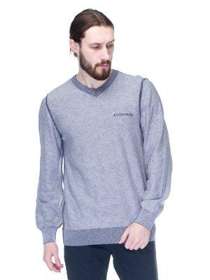 Пуловер серый | 1353280