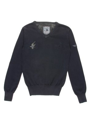 Пуловер синий | 1353239