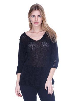 Пуловер черный | 159550
