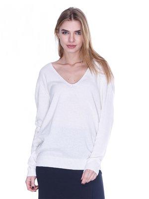Пуловер светло-бежевый | 1443425