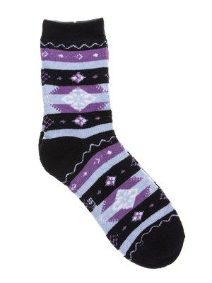 Шкарпетки сині в принт | 2917030