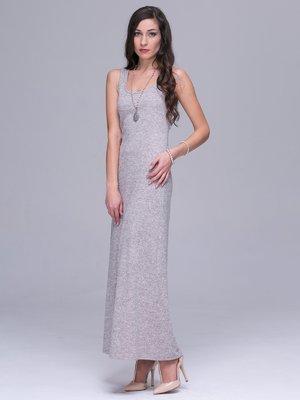 Платье-майка бежевое   2931223
