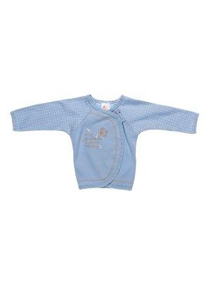 Сорочечка блакитна в горошок | 2930003