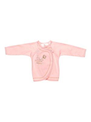 Распашонка розовая в горошек | 2930001