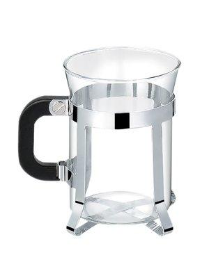 Чашка з хромованим підстаканником (200 мл)   2878923